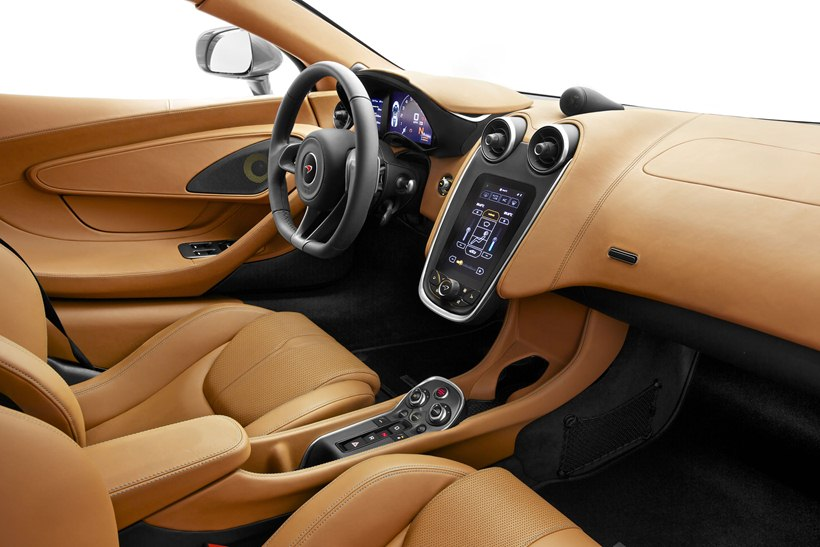 interior, beige leather trim
