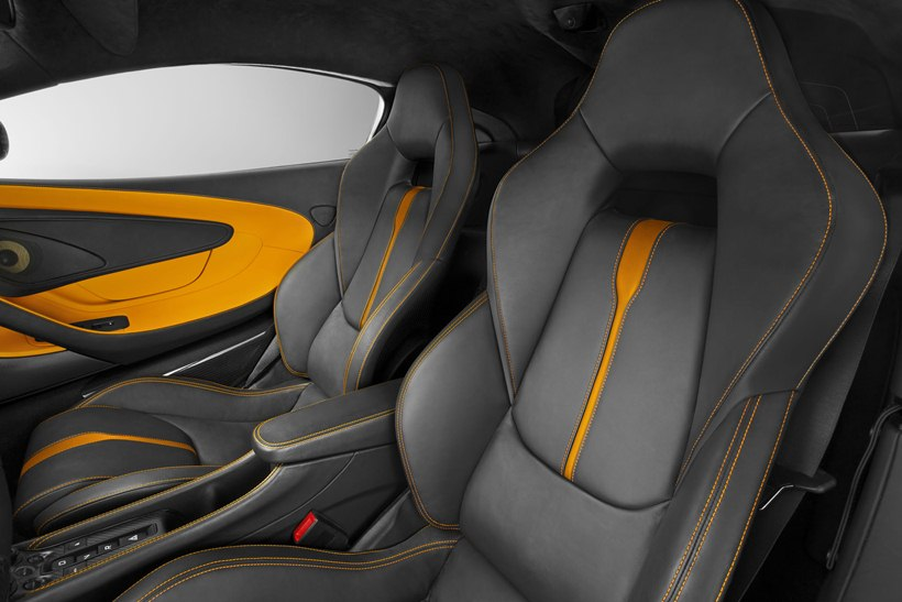 2016 Mclaren 570s Coupe Interior Photo Black Seats