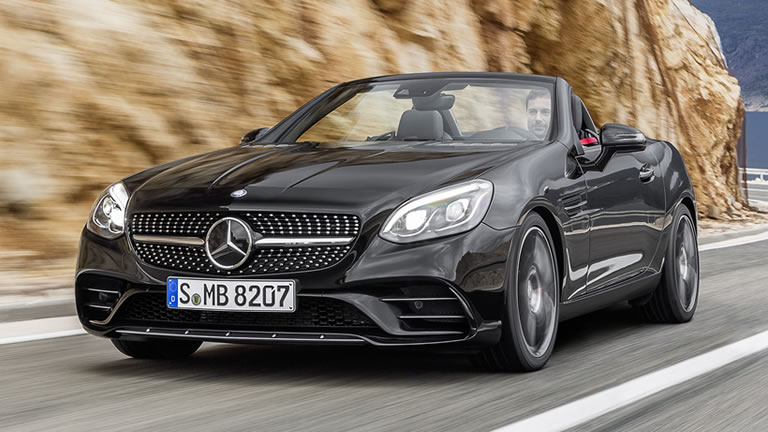 2016 Mercedes-Benz AMG SLC43