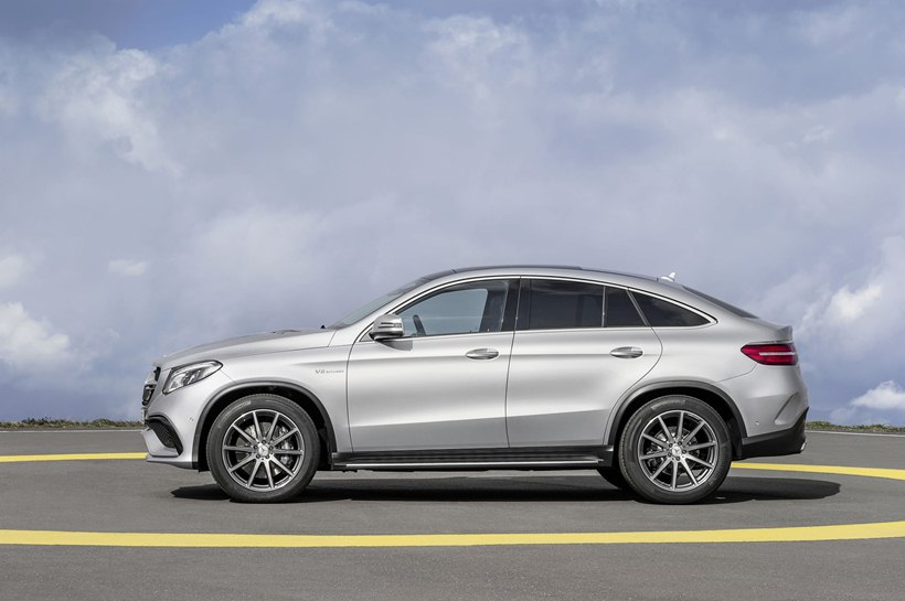 2016 Mercedes Benz Amg Gle63 S Coupe Side Photo Biturbo