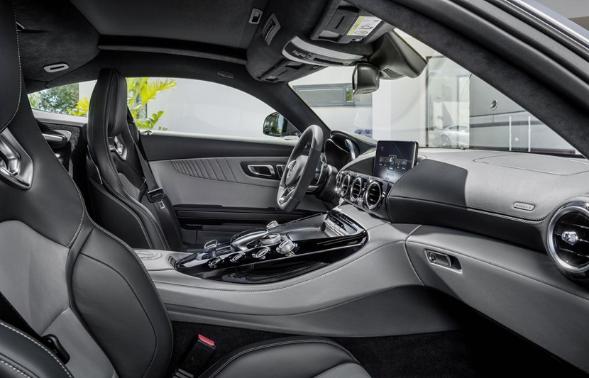 Mercedes S63 Amg Coupe >> 2016 Mercedes-Benz AMG GT - interior photo, central ...