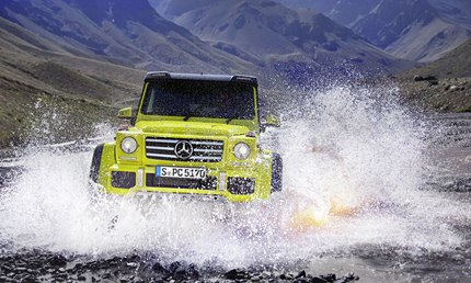 In visual terms the 2016 Mercedes-Benz G500 4x4² raises no doubts as to its passion.