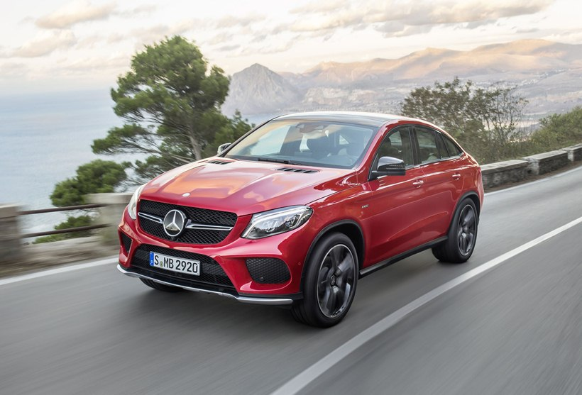 2016 Mercedes Benz Gle 450 Amg Coupe Front Photo Designo Hyacinth