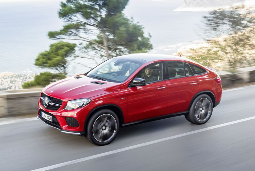 2016 Mercedes Benz Gle 450 Amg Coupe Front Photo