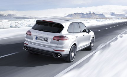 The Cayenne Turbo S can turn a lap of the North Loop of the Nurburgring in 7:59.74 minutes - a record among SUVs.