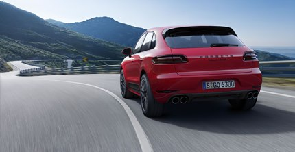 Air suspension, including Porsche Active Suspension Management (PASM), comes 