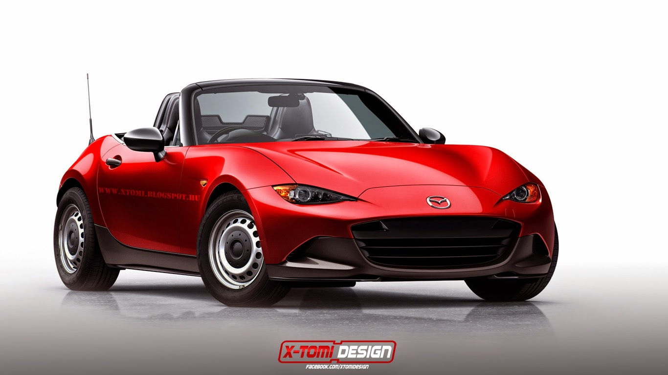 Anderson Ford Mazda >> Supercars in Base-Spec Trim - front photo, Mazda MX-5, size 1366 x 768, nr. 11/15 - RSsportscars.com