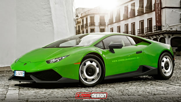 15 Supercars and Sports Cars Rendered in Base-Spec Trim