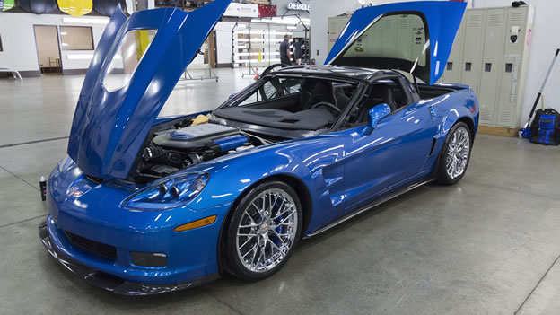 "Chevrolet Restores ""Sinkhole"" 2009 Corvette ZR1"