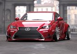 2014 SEMA: Lexus RC Widebody by LexusTuned, GReddy, Toyo Tires and Rocket Bunny