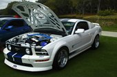 front, Ford Mustang GT