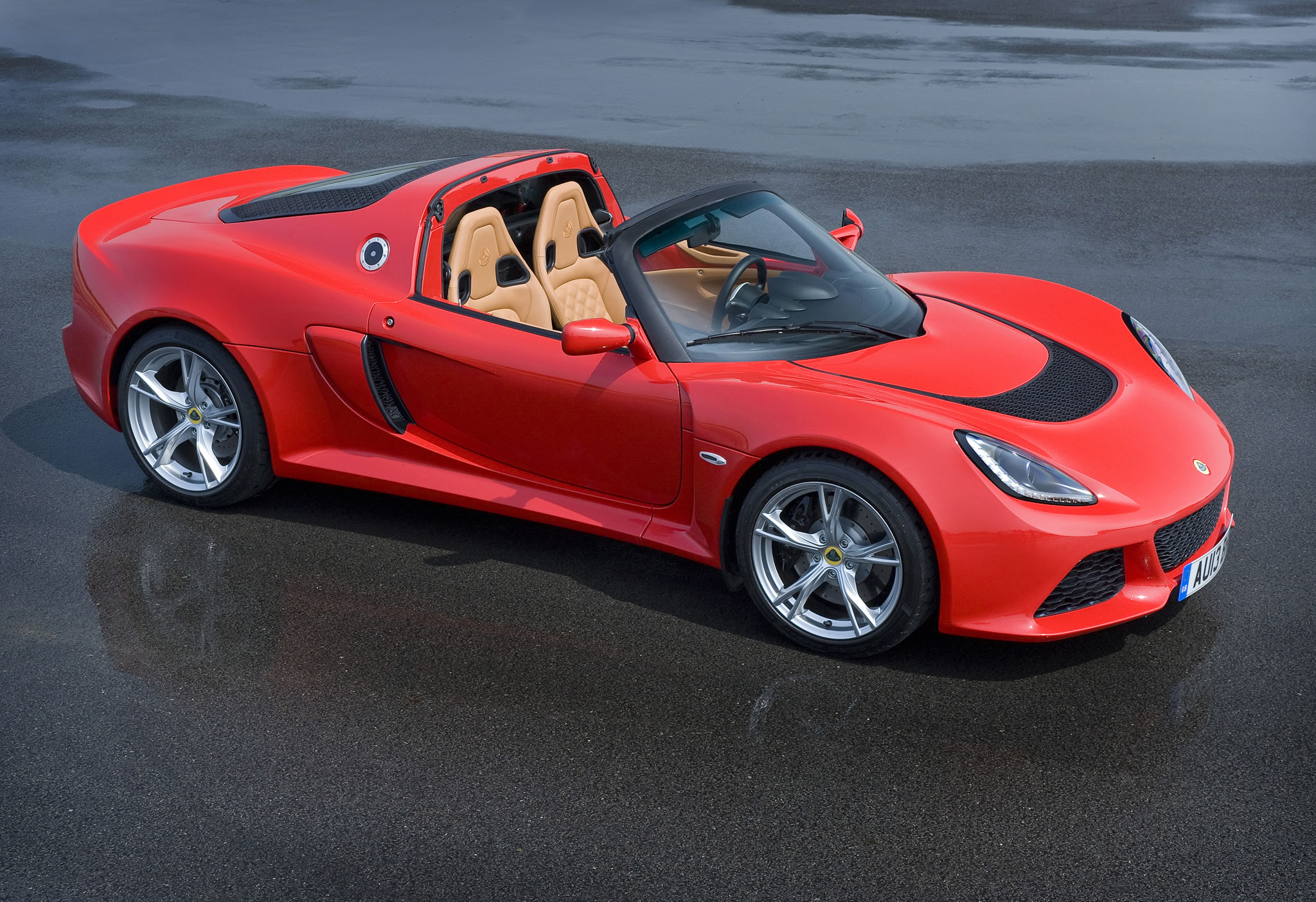2015 Lotus Exige S Roadster Front Photo Ardent Red