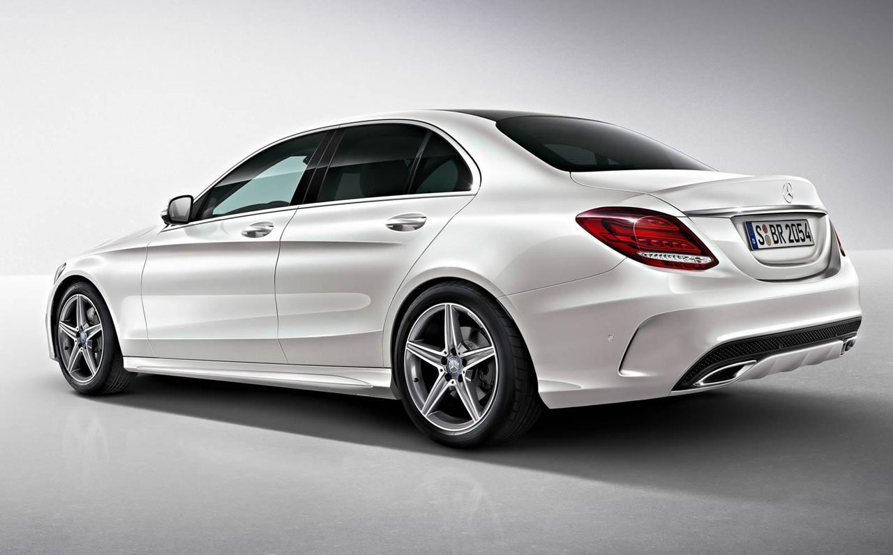 2014 mercedes benz c class with amg package rear photo for Mercedes benz c class colours