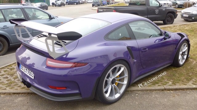 2016 Porsche 911 GT3 RS in Ultraviolet Color - rear photo ...