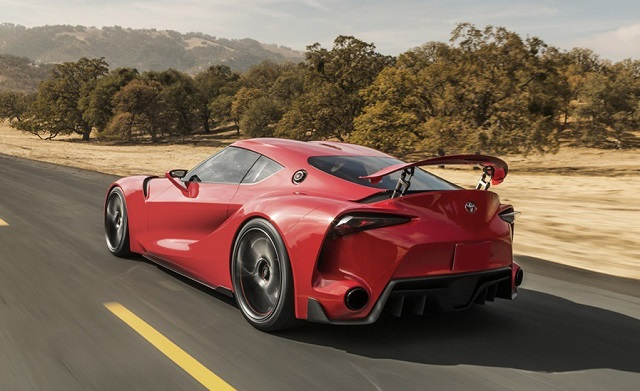 2016 Toyota Supra >> 2016 Toyota Supra Redesign Rear Photo Size 640 X 391