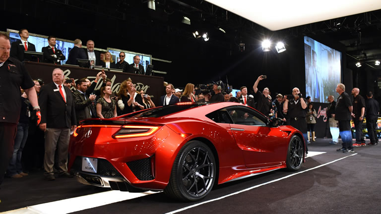 First Production Acura NSX Sold for $1.2 Million