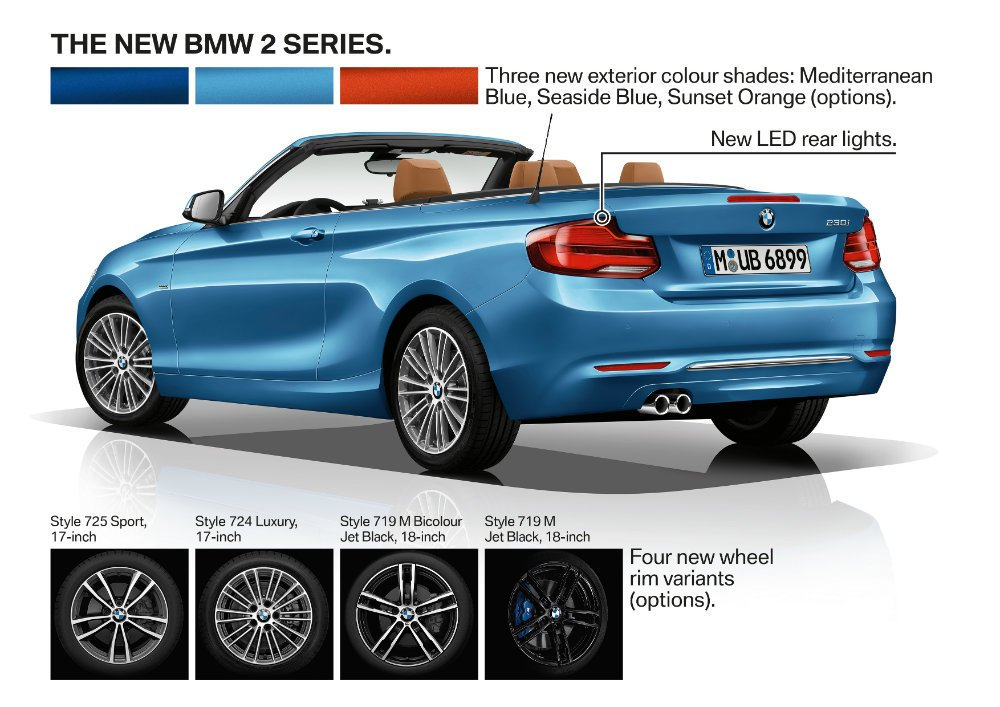 2018 bmw 2. unique 2018 the inside has gotten a rather nice freshening along with completely  redesigned instrument panel 2018 bmw 2 series comes standard the sport line  for bmw