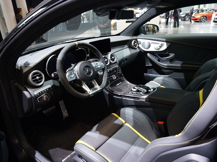 2019 Mercedes Amg C63 Nine Speed Transmission Interior