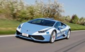 Italian Polizia Ready To Go With the New Lamborghini Huracan