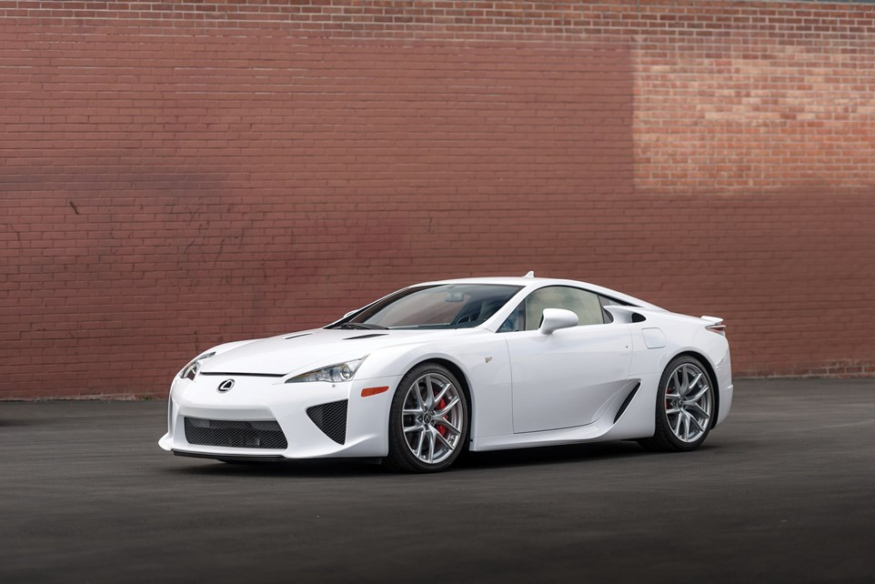 You Can Still Get Quiet New Lexus LFA With Just 120 Miles