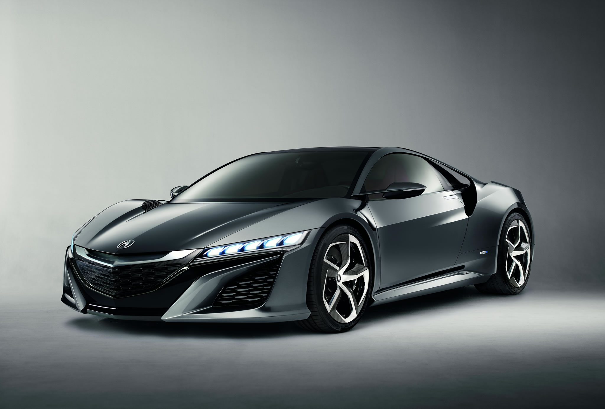 Acura Nsx To Appear At Pebble Beach Front Photo Gray