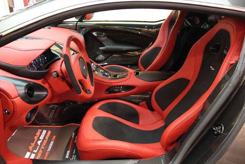 Interior, Seats. 2011 Aston Martin One 77 ...