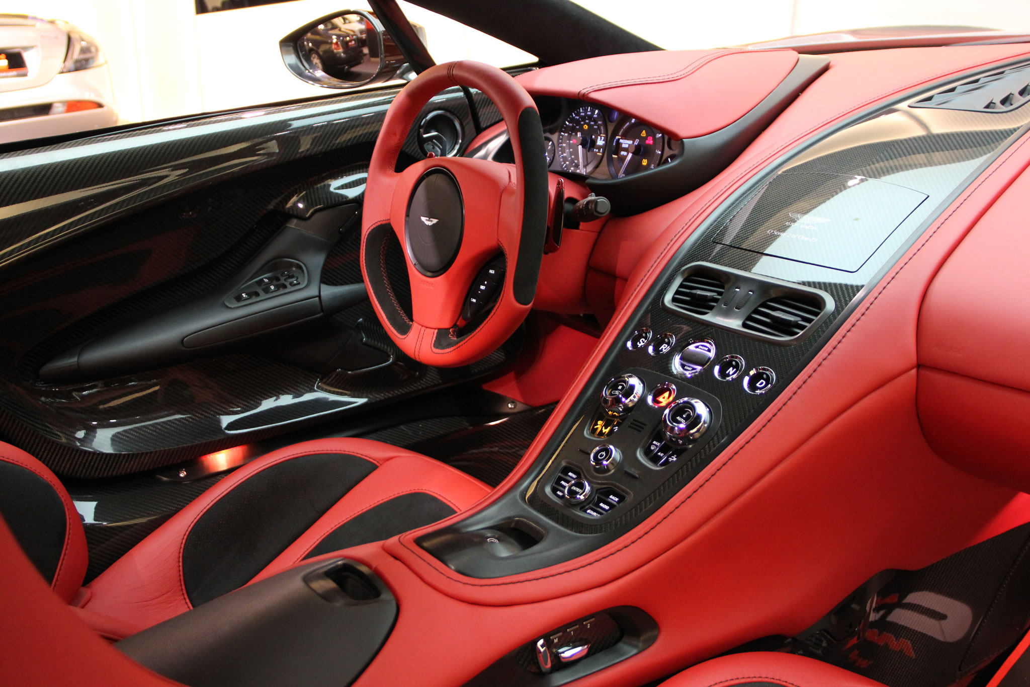 Nice Create Wallpaper. Interior, Steering Wheel, Dashboard, Central Panel. 2011 Aston  Martin One 77 ...