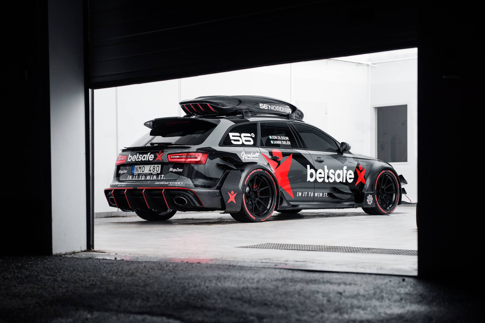 950 Horsepower Audi Rs6 Dtm By Jon Olsson Rear Photo