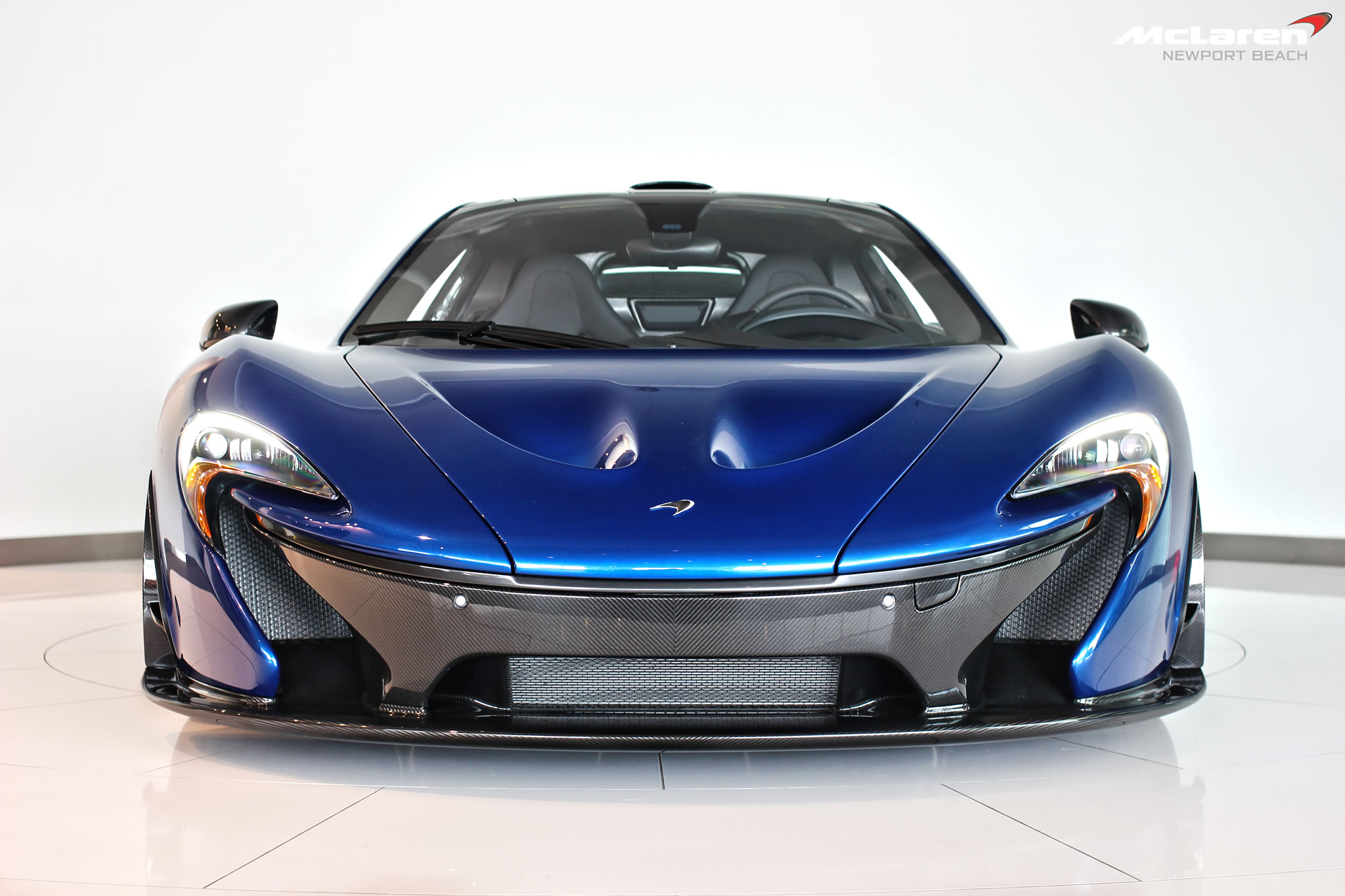 2015 Mclaren P1 At Newport Beach Dealership Front Photo