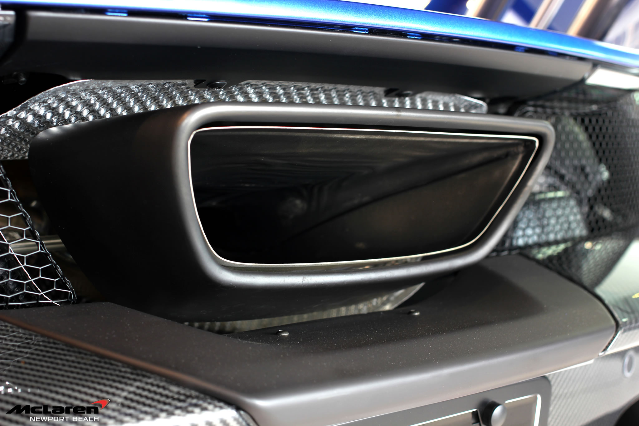 2015 McLaren P1 at Newport Beach Dealership - detail photo ...