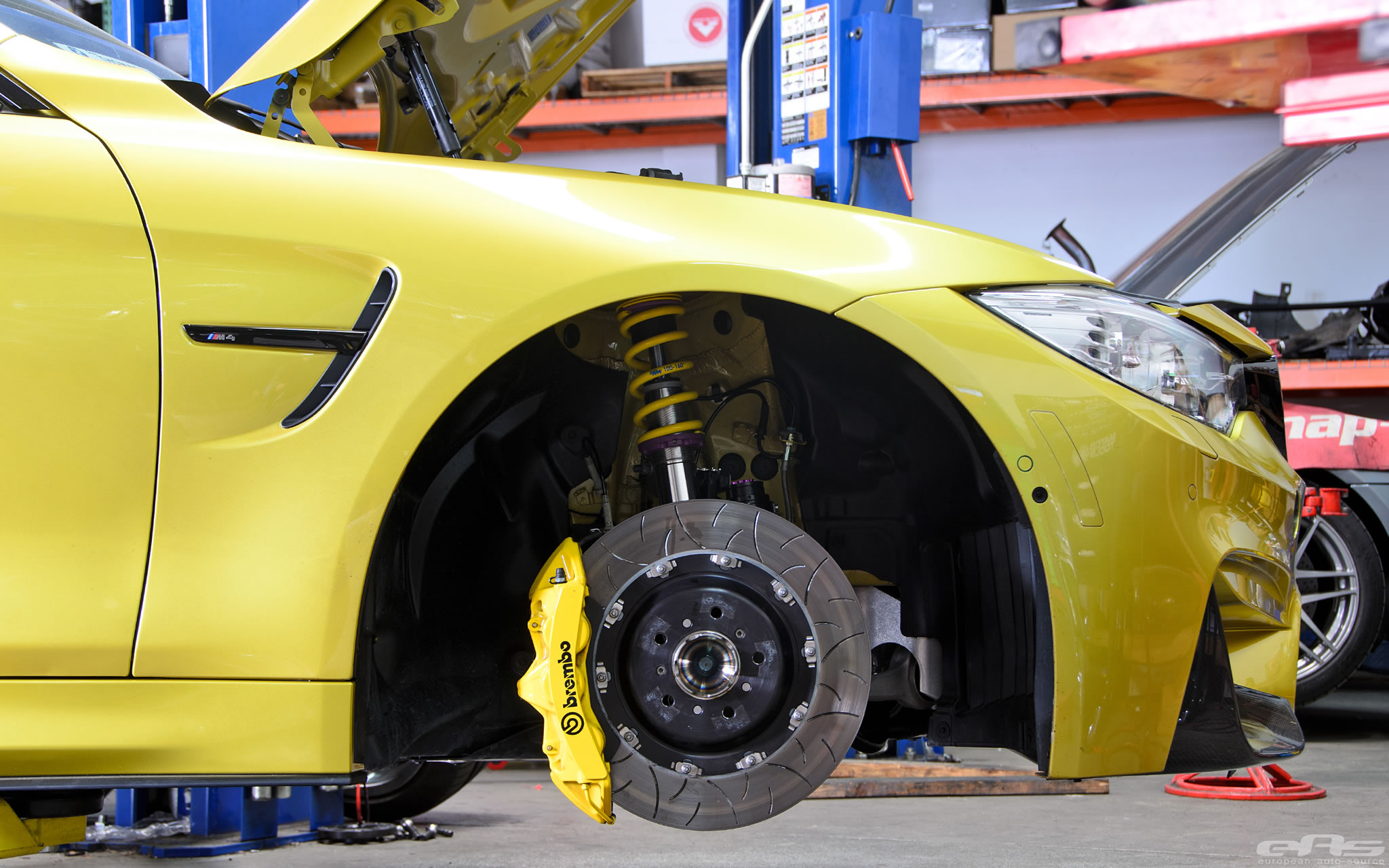 2015 Bmw M4 Coupe With Kw Clubsport Suspension Detail
