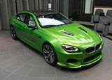 Photoshoot: BMW M6 Gran Coupe in Java Green Color