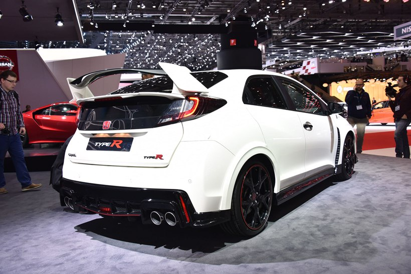2015 honda civic type r rear photo championship white. Black Bedroom Furniture Sets. Home Design Ideas