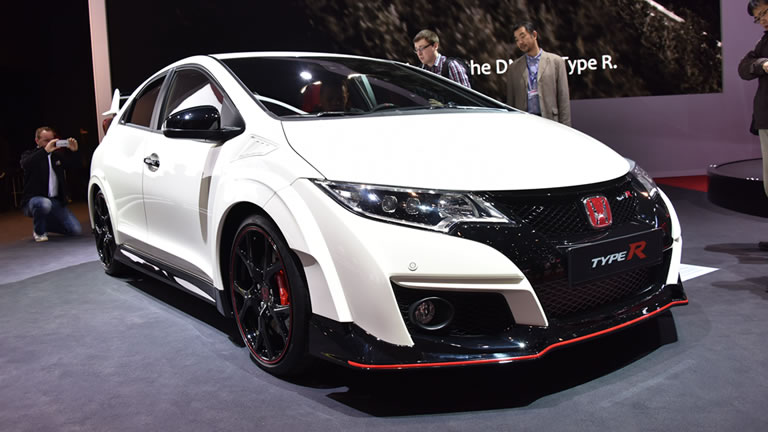 new honda civic type r smashes nurburgring lap record w. Black Bedroom Furniture Sets. Home Design Ideas