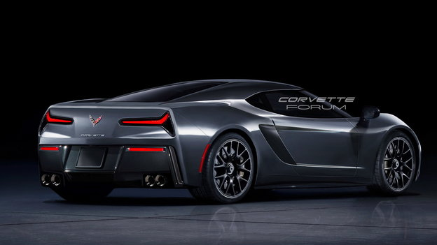 Mid-Engine Corvette C8 To Offer 850HP From Twin-Turbo V8