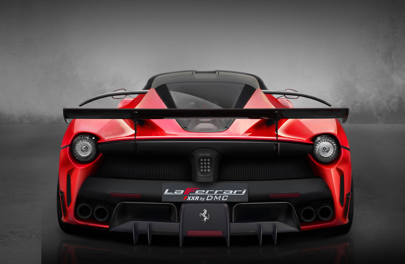 2013 Ferrari Laferrari Fxxr By Dmc Rear Photo Rosso