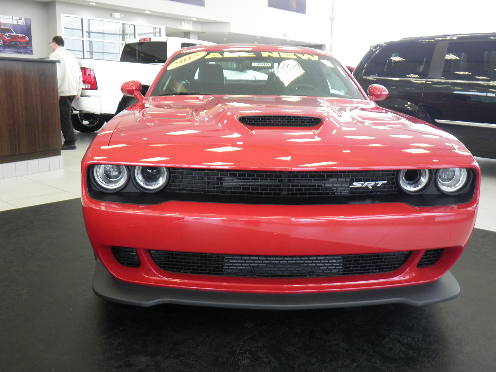 2015 Dodge Challenger Srt Hellcat At Naperville Dealer