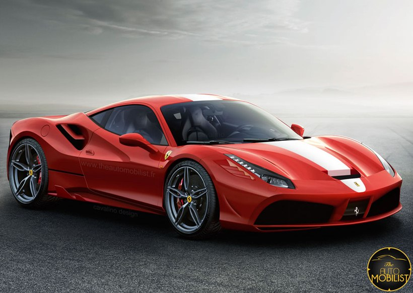 2018 Ferrari 488 Gtb Speciale Rendered Front Photo Size
