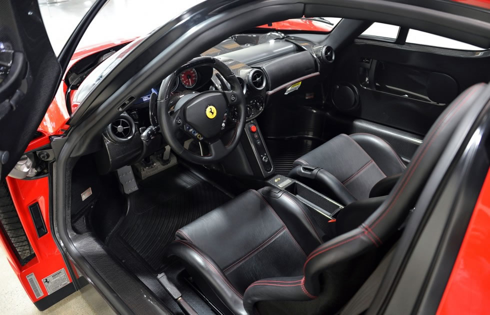 2003 Ferrari Enzo For Sale Interior Photo Steering