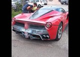 Ferrari LaFerrari with Engine Issue