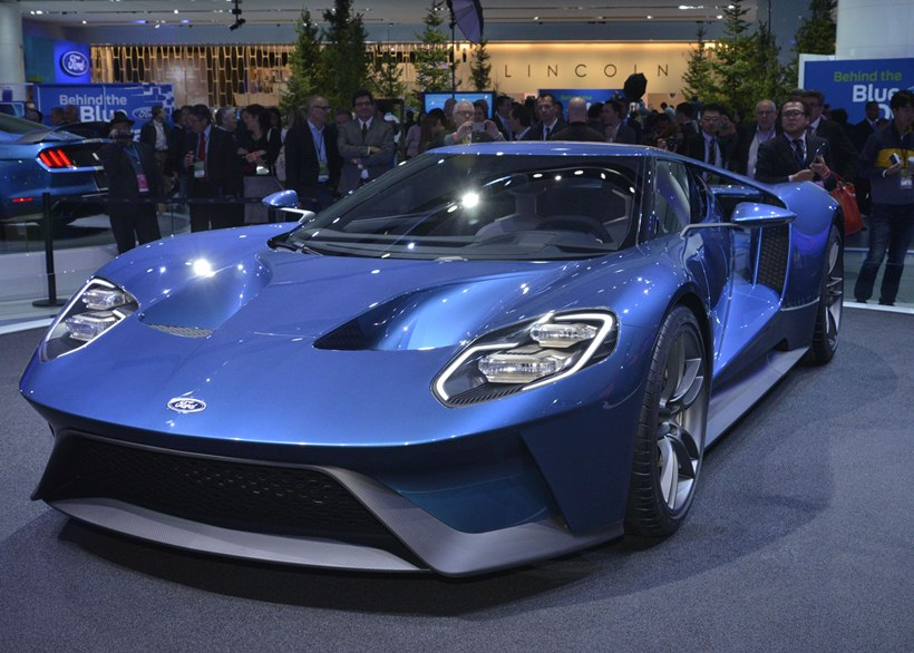 Photo Gallery  Ford Gt At  Naias