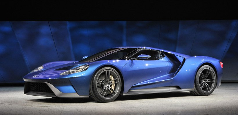 Ford Gt At Naias Front Photo Blue Oval Supercar Size