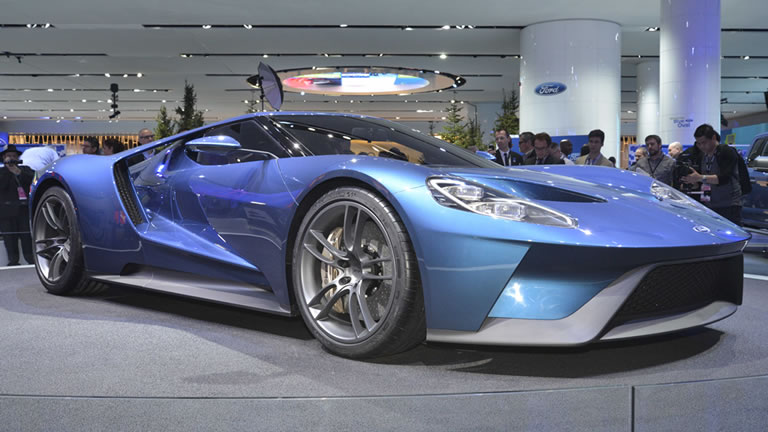 Ford Benchmarked New Gt Supercar Against Ferrari 458 Speciale