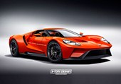 front, 2017 Ford GT Spider