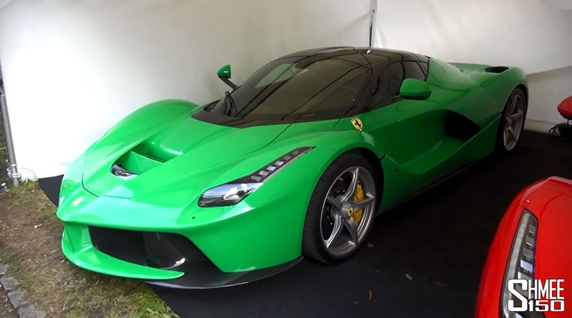 2015 Ferrari Laferrari At Goodwood Fos Front Photo