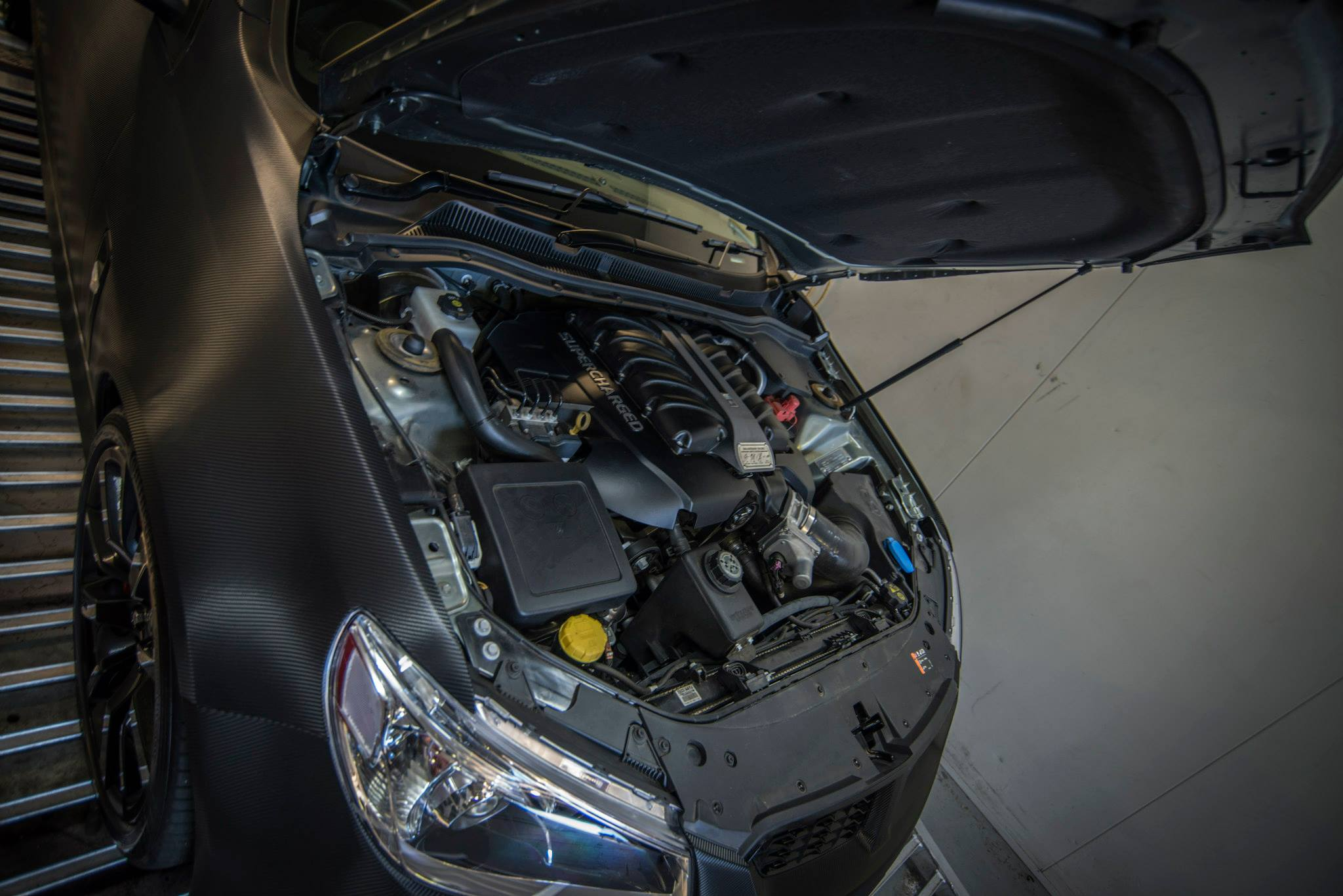Holden Commodore by Walkinshaw Performance - engine photo