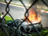 Honda NSX Prototype Destroyed in Fire During Nurburgring Test [w/ video]