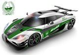 Koenigsegg One:1 Rendered as Dubai Police Car