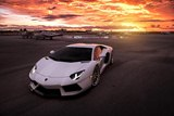 Photoshoot: White Lamborghini Aventador with ADV005 Track Spec SL Wheels
