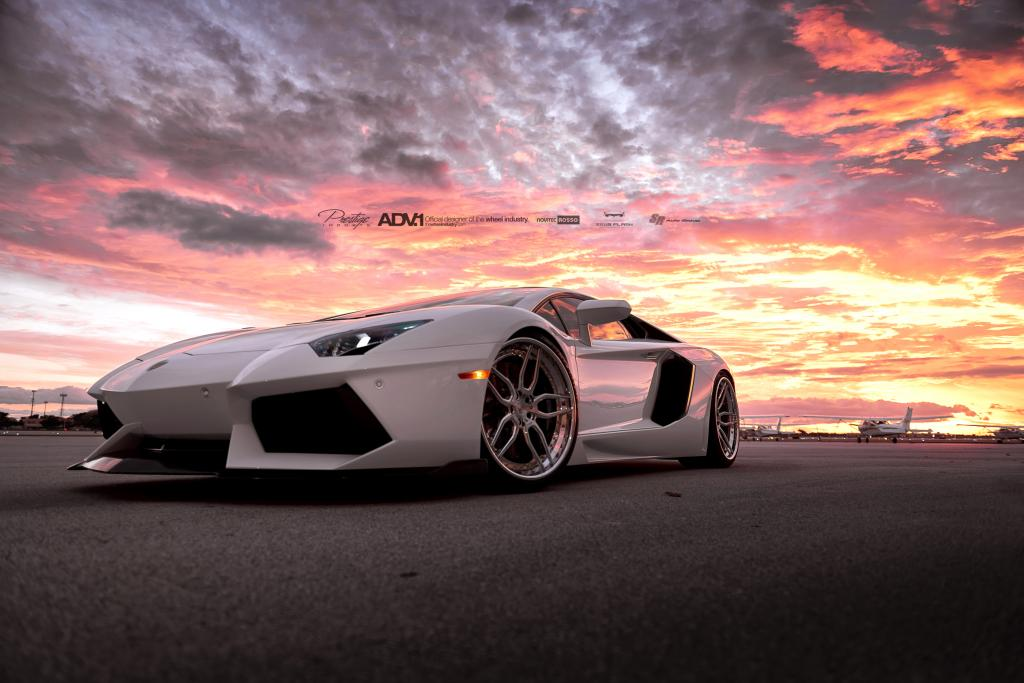 Aventador Adv Wheels Sunset